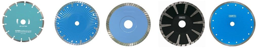 گرانیت بر , دیسک گرانیت بر , تیغه ی سرامیک بر